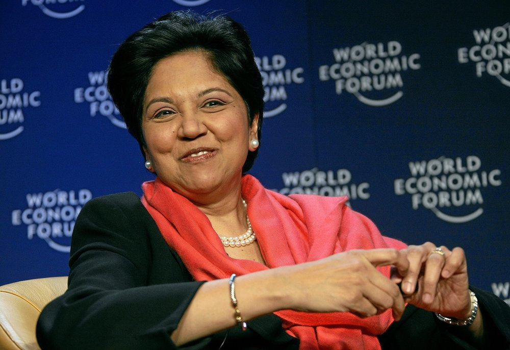 Indra Nooyi, CEO of PepsiCo since 2006