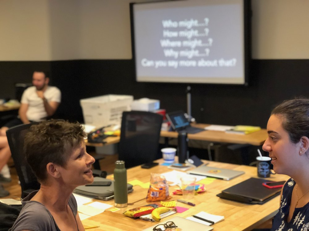 A teacher and a student at Expeditionaries this past July. As the first article below suggests, changemaking depends not on ingenious ideas or personal charisma, but rather teachable skills and mindsets.
