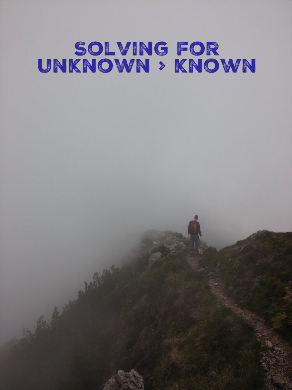 Solving for Unknown > Known