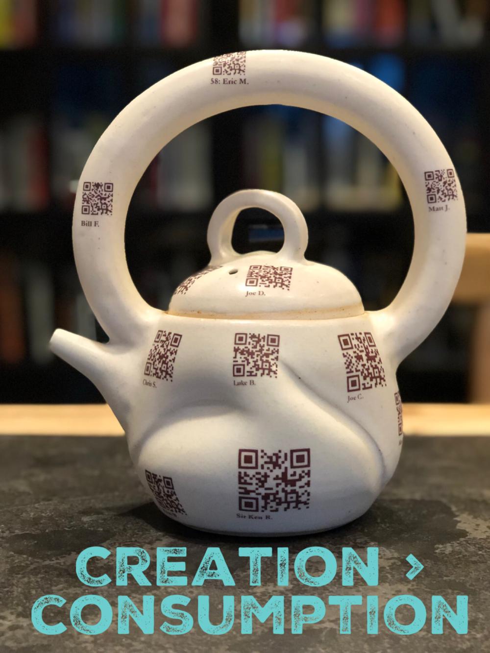 Creation > Consumption
