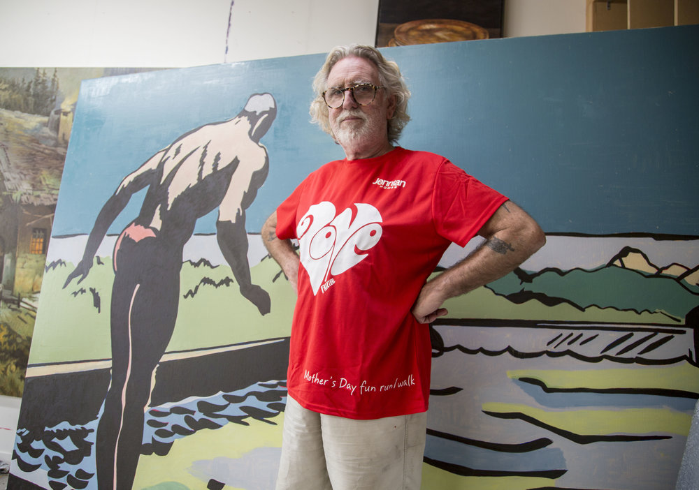 Dick Frizzell designed t-shirts