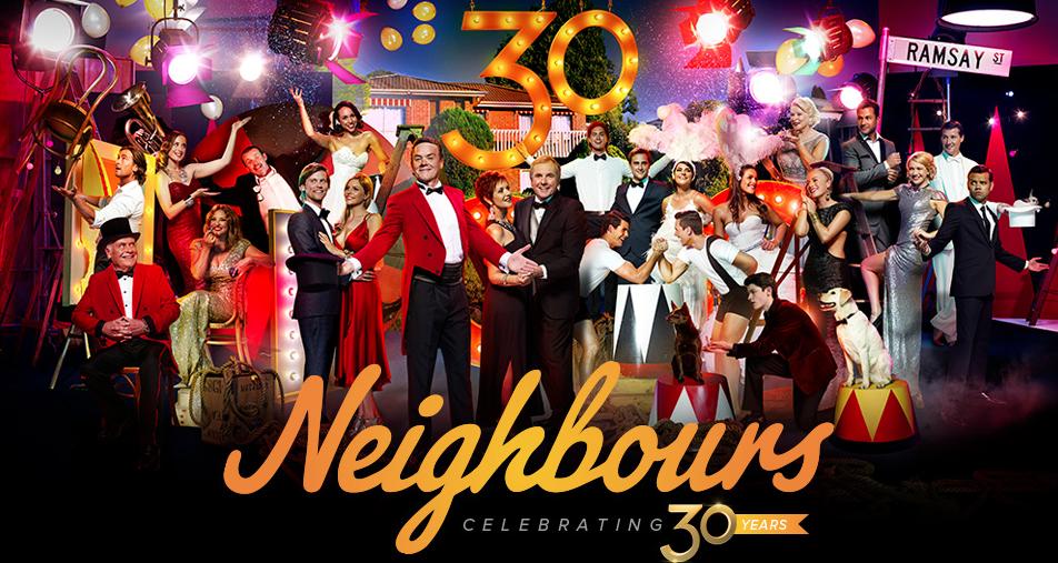 2014 | Neighbours 30 Years Anniversary Shoot | Fremantle Media | Makeup Artist & Hairdresser