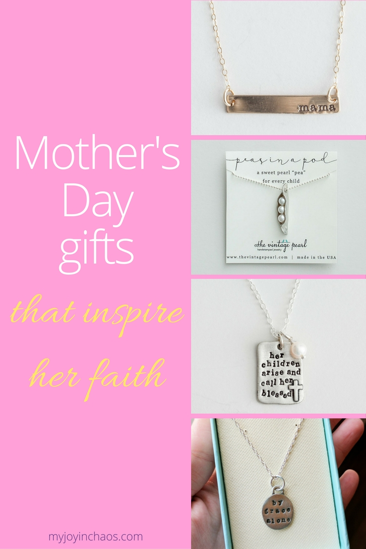 Mother's Day jewelry from DaySpring