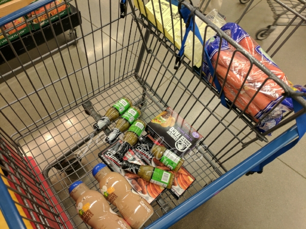 grocery haul at cashwise