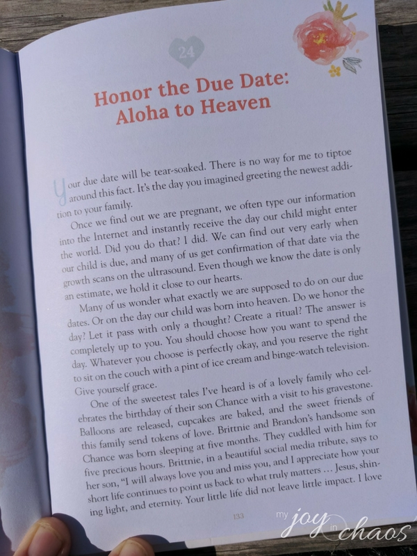 miscarriage and infant loss devotional loved baby