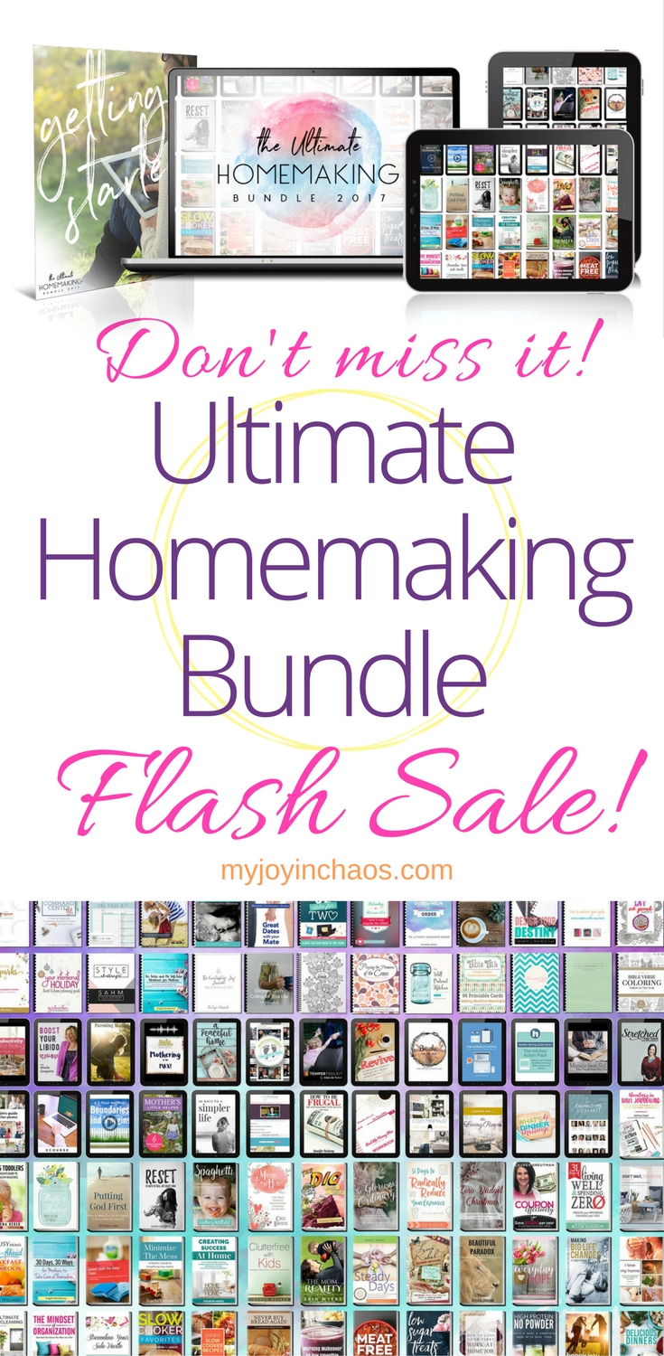 ultimate homemaking bundle flash sale.jpg