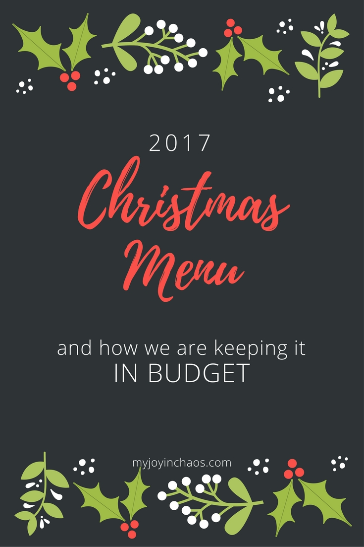 budget holiday meal