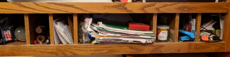 junk drawer clutter