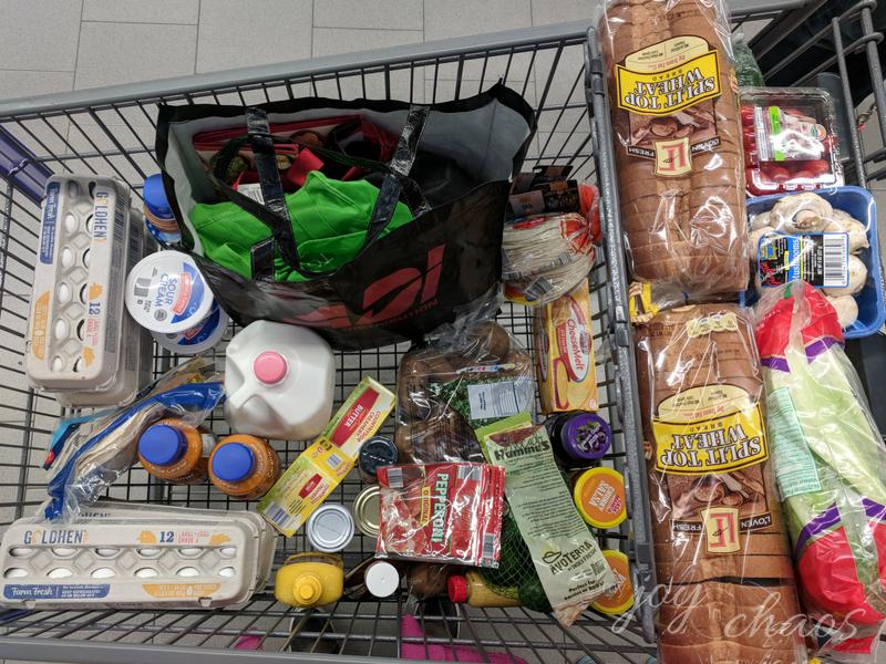 aldi grocery trip