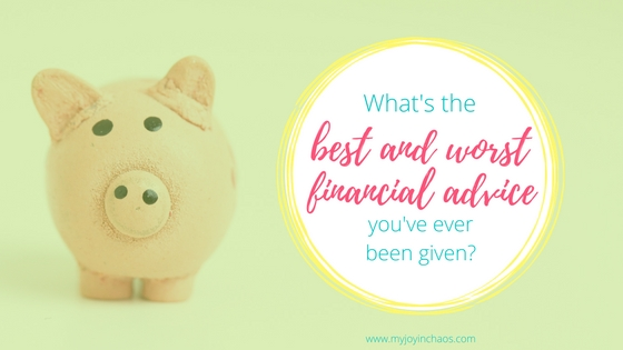 best worst financial advice