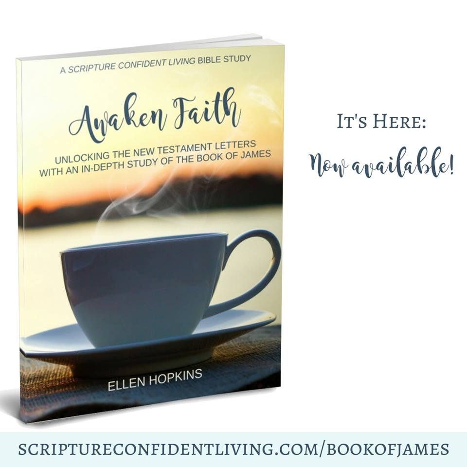awaken faith by Ellen Hopkins is now available. Unlock the book of James with an in depth study