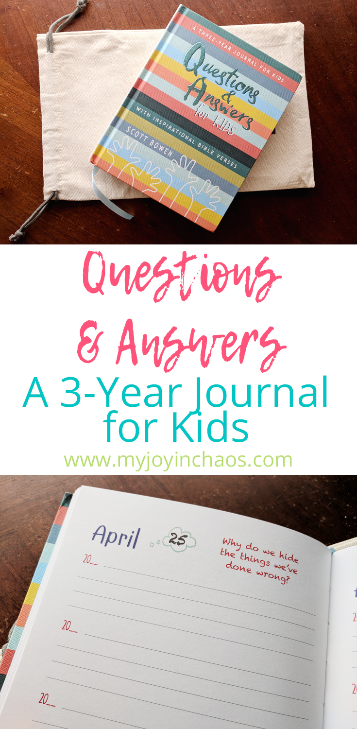 Capture three years worth of your childs personality and imagination in this journal. #parenting #raisingkids #christianparenting