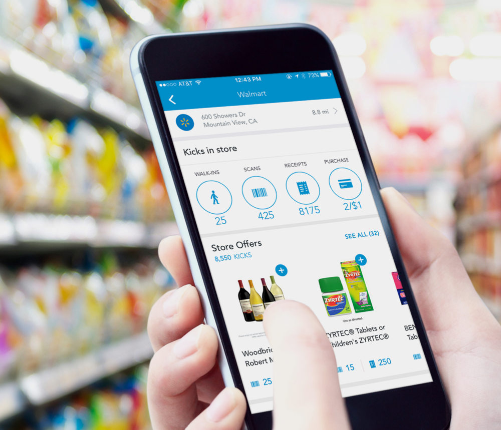 Shopkick rewards app
