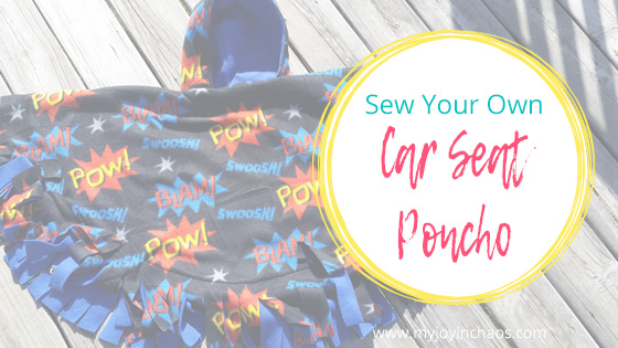 Keep Your Kids Safe And Warm In Their Car Seats By Sewing Own Seat