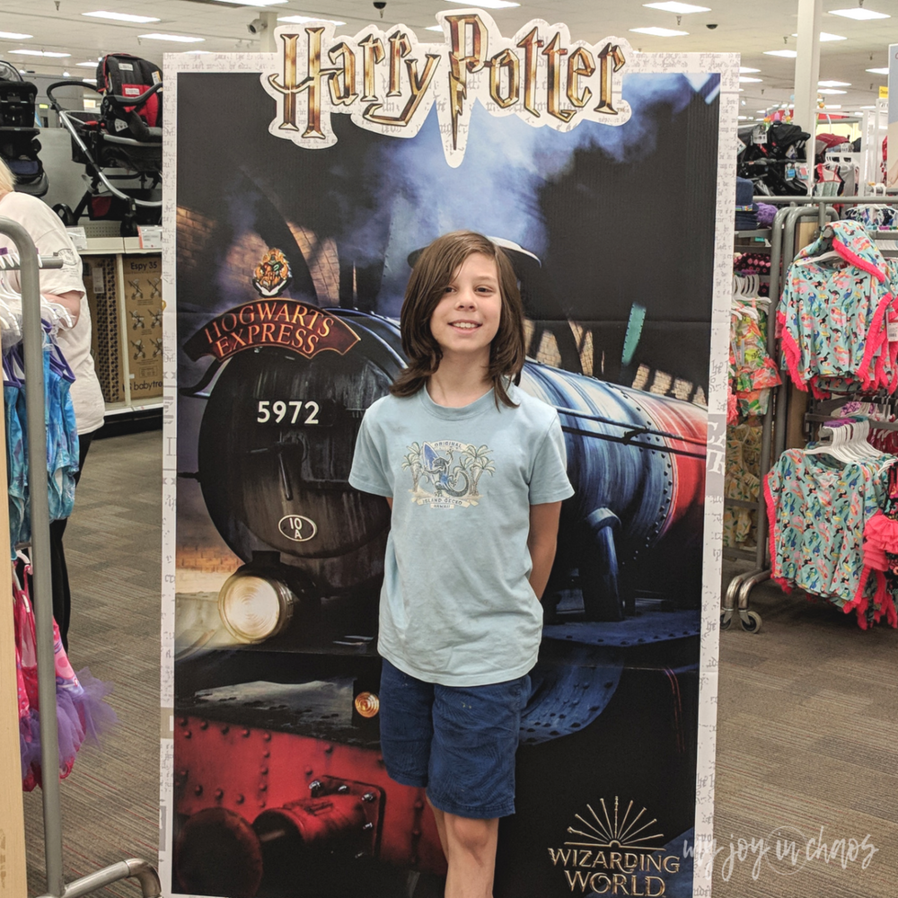 harry potter 20th anniversary Target stores