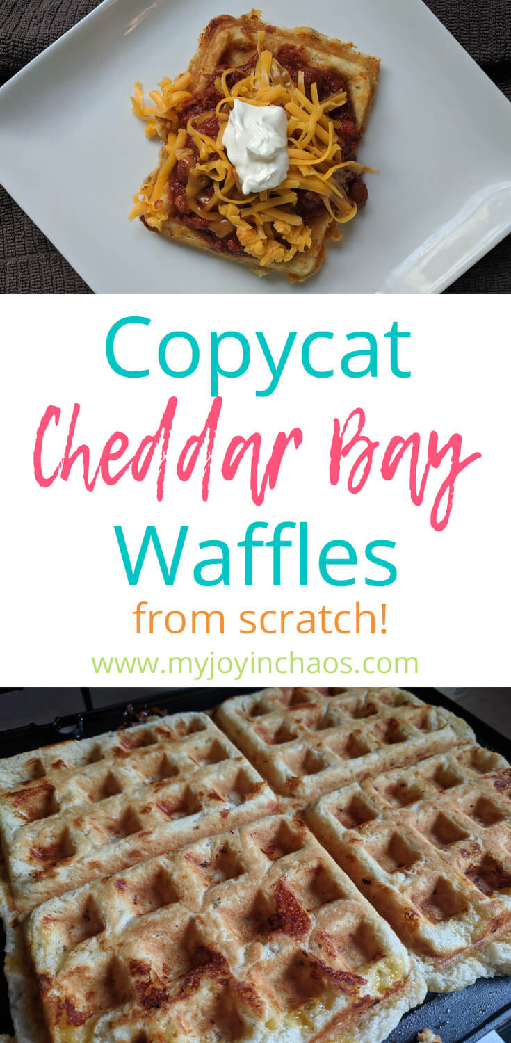 Red Lobster Cheddar Bay Biscuit Waffles copycat recipe #fromscratch #homemade #cheddarbaybiscuits #redlobster #copycatrecipe