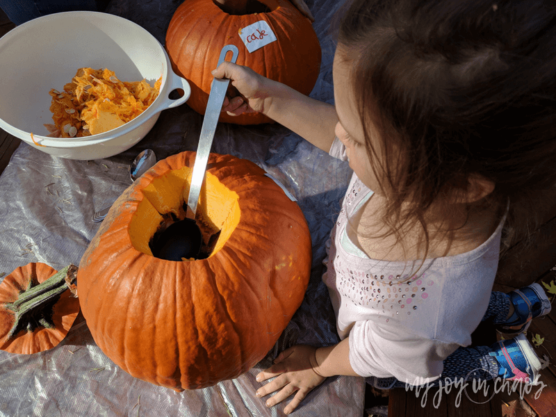 Do you carve pumpkins during the fall? It's on our must-do activities this fall.