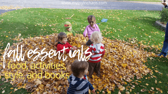Essential fall foods, fall activities, fall style, and books to add to your list this season. You don't want to miss out on these!