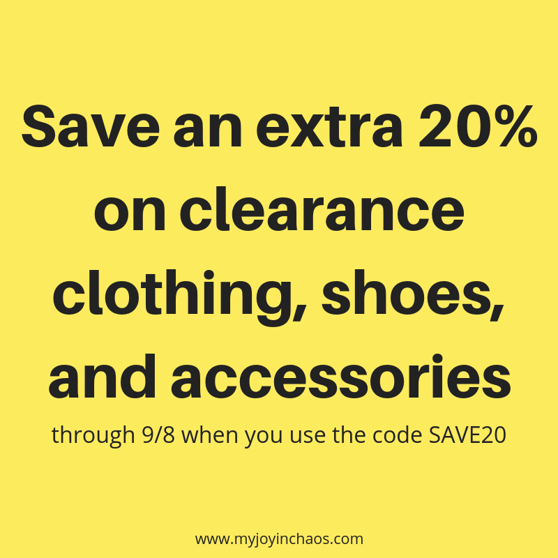 Save an extra 20% on clearance clothing, shoes, and accessories (1).png