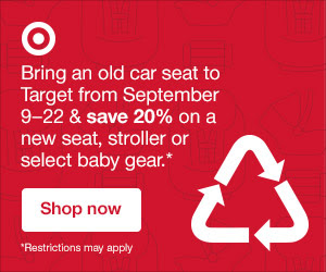 Target Car Seat Trade In Event September 2018