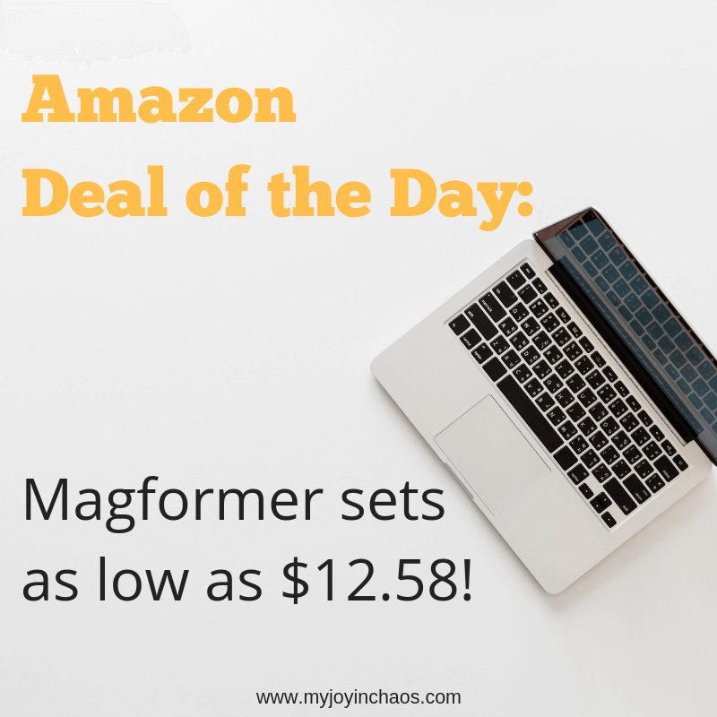 Get Magformers sets starting at under $13! These will make incredible birthday or Christmas gifts at nearly half their normal price.