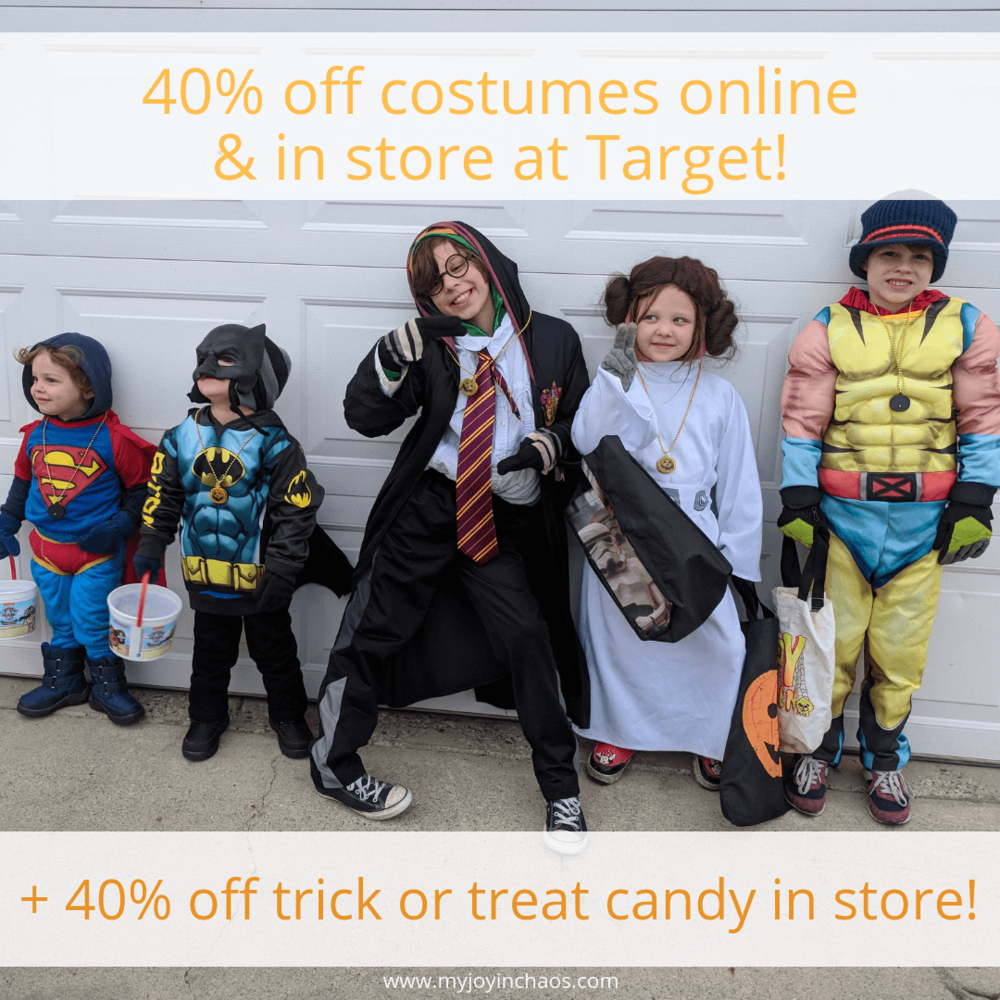 40% off select halloween - in store & online - today only! — my joy