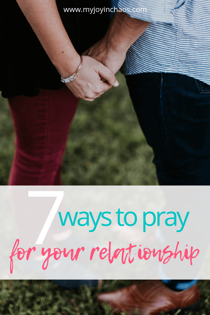 Praying together over your relationship can bring you closer together as a couple but also bring you closer to God. These are the seven areas we pray over each night as a couple.