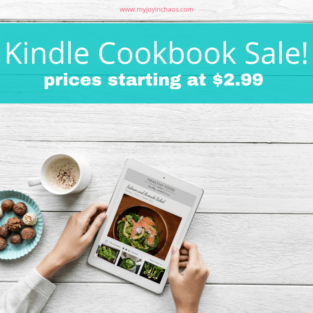 Specialty cookbooks on sale for Kindle as low as $2.99