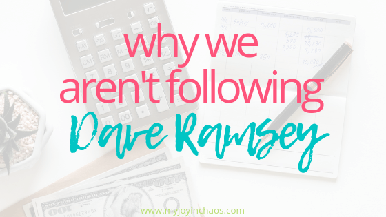 We took a Dave class. We know the steps. We understand the work needed to make it happen. But we aren't following. #daveramsey #debtfree #budgethelp #howtobudget #babysteps