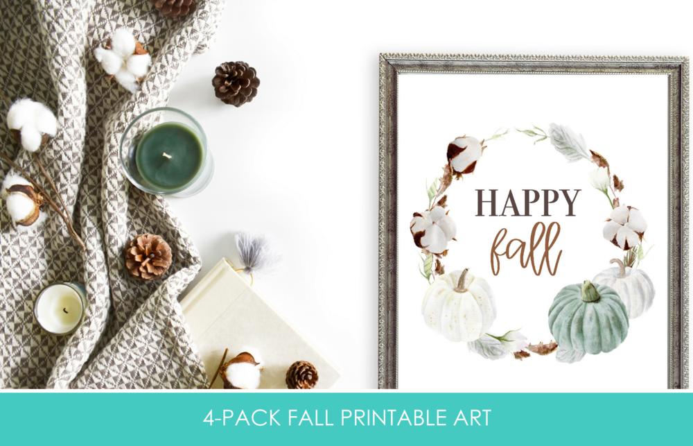 Get your Fall printables now included in the All Things Holiday Printable Pack!