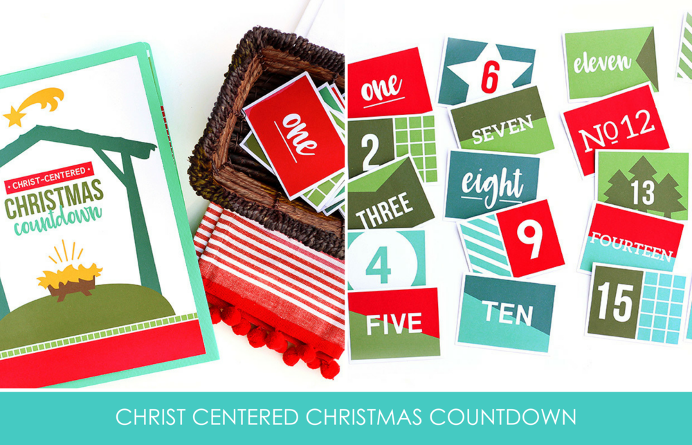 Get your Christ Centered Christmas Printable pack as part of the All Things Holiday Bundle - on sale now!