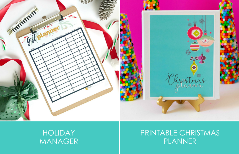 Get this Printable Holiday Planner included in the All Things Holiday Printable Bundle