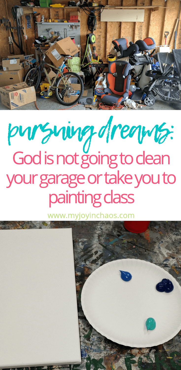God is not going to do the work for us. He gives us dreams and talents but it is up to us to use them. #bookreview #faith #goals #dreams #Christianliving #myjoyinchaos