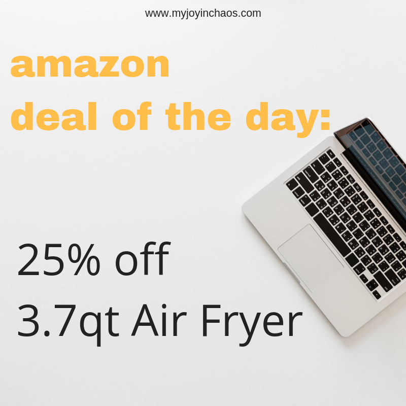 If you have been looking for a good deal on a air fryer, now is the time!