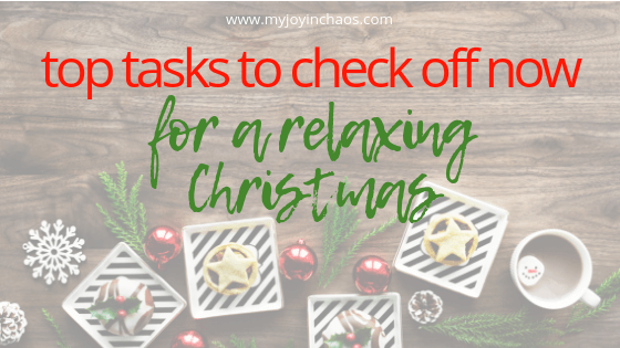 Don't enter another holiday season unprepared and feeling scattered! Start preparing now by using these seven ideas to check tasks off your holiday to-do list. By starting now you can enter the holiday season with a plan and actually enjoy the time with your family!