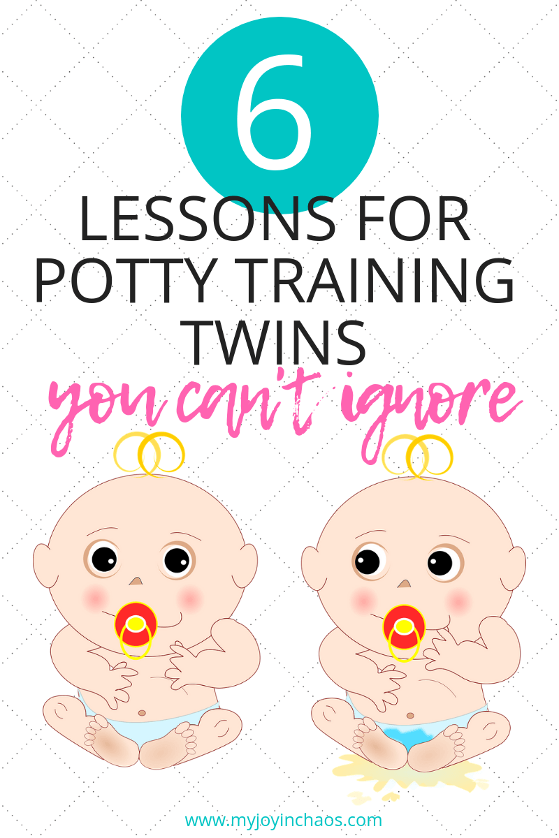 Need to potty train twins or other multiples? These six tips will help you keep your sanity and make the whole process significantly easier!