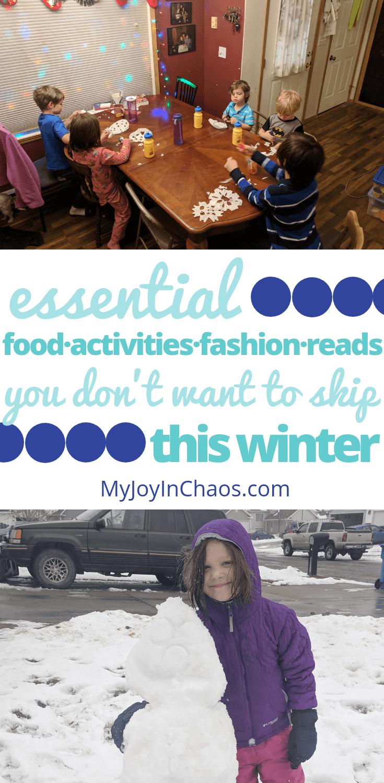 best winter foods Activities