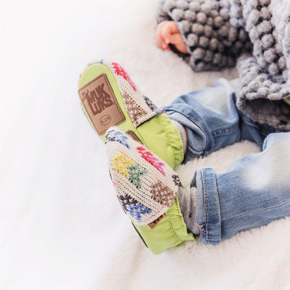 MUK LUKS baby soft shoe sale
