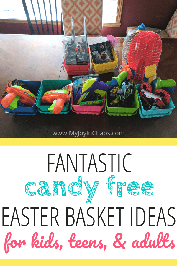 Easter basket ideas for kids, teens, adults