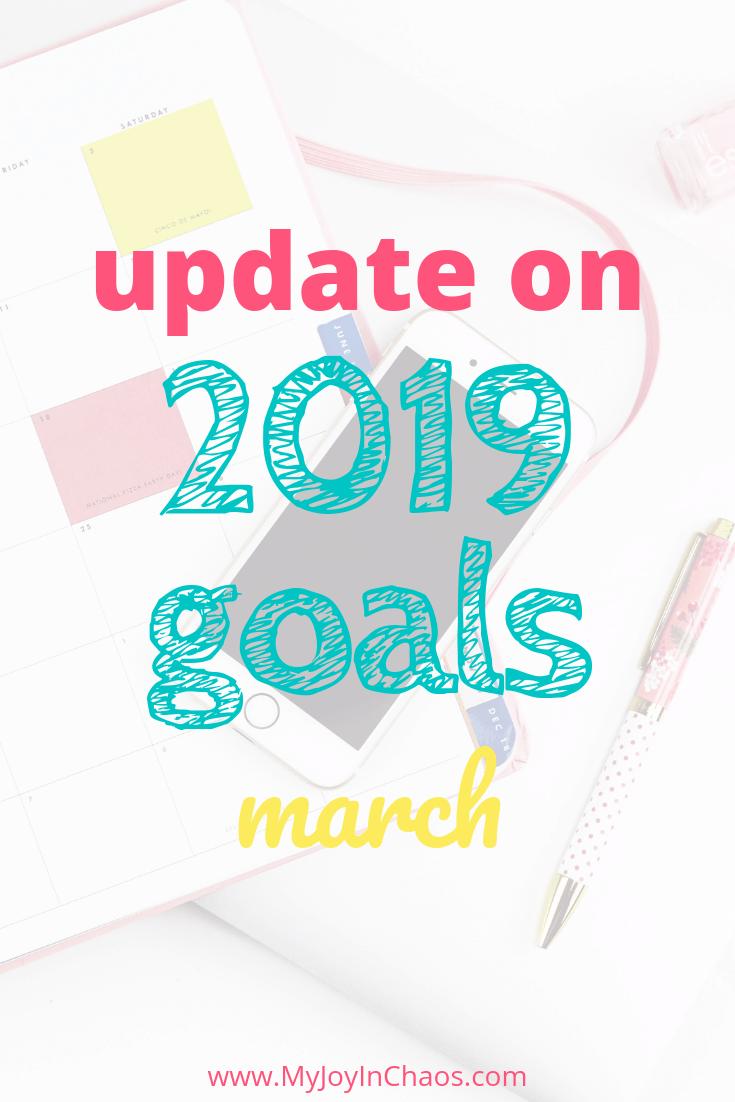 2019 goal progress