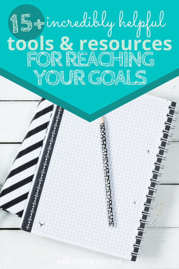 tools for setting, tracking, and reaching goals