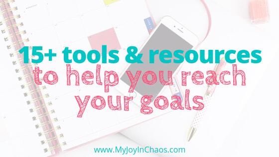 goal setting help