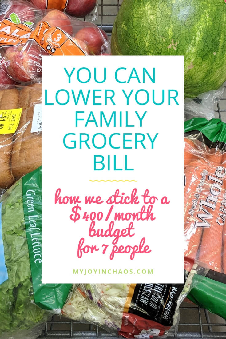 How to lower my grocery bill