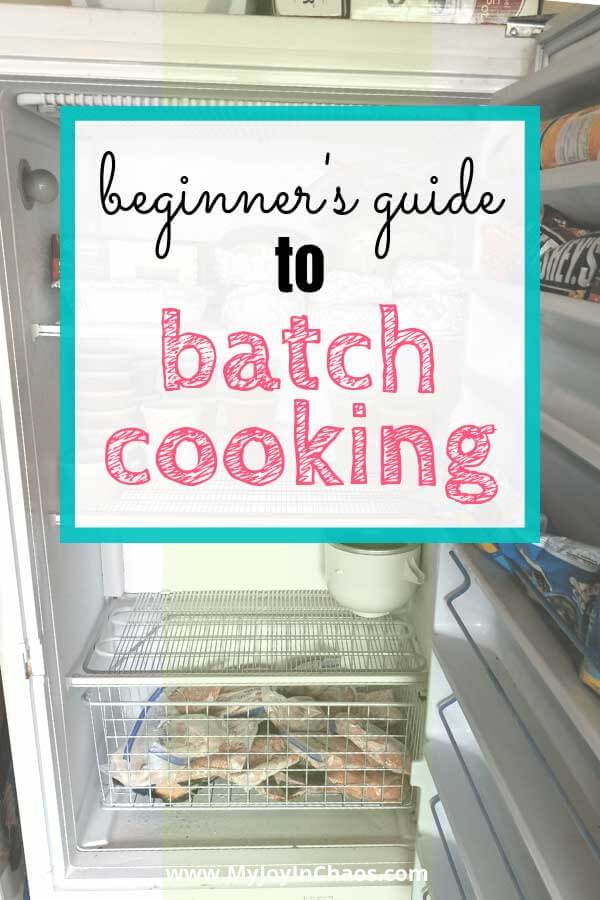 batch cooking for beginners