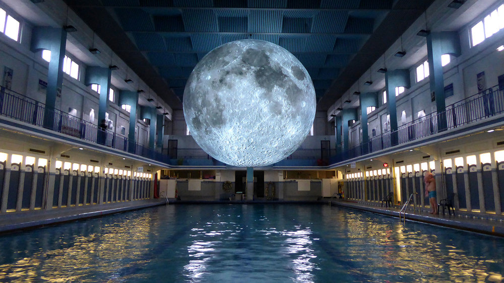 The Museum of the Moon  by Luke Jerram
