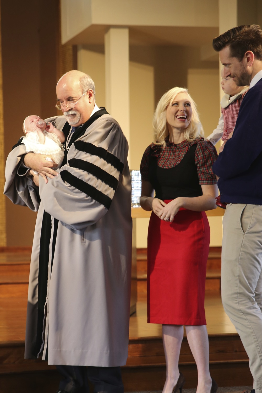 The sacrament of baptism, or Can not baptize a priest and not in church
