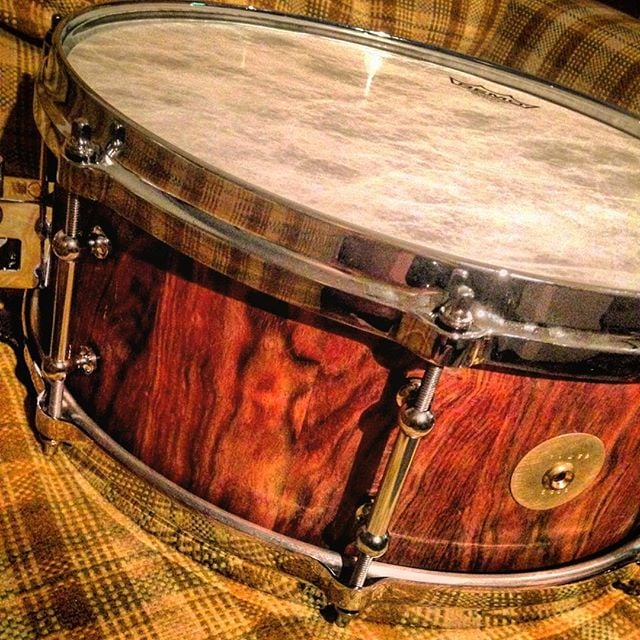 #minerdrums No. 0006. Chechen wood. @trick_drums_usa #trickdrums #remo #drums #snaredrum #drummer