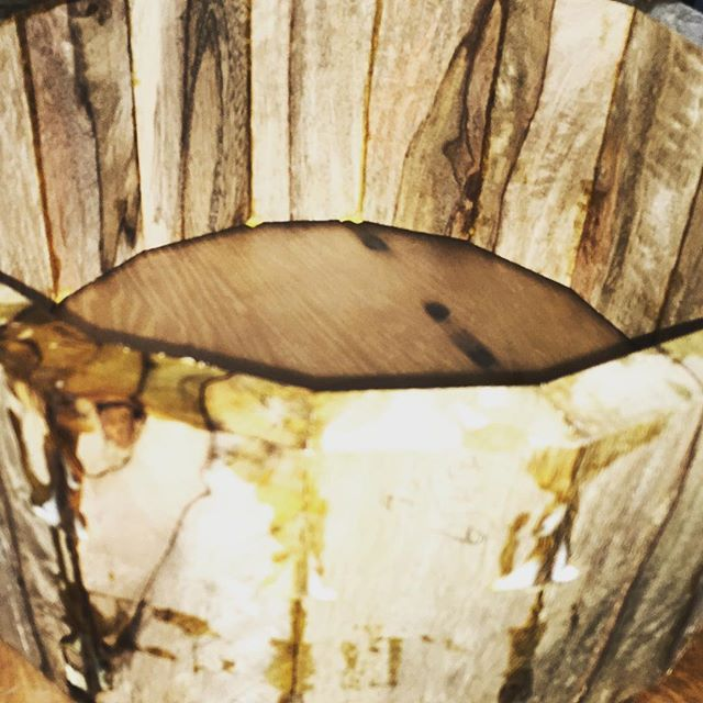 A mango snare shell just after being glued up. #drums #drummer #drumming #snaredrum #woodworking
