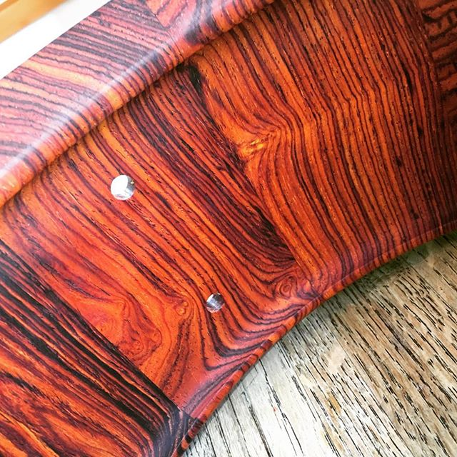 Cocobolo snare shell. 14 X 5.5 #woodworking #snaredrum #drumming #drummer #drums
