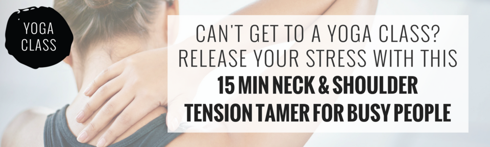 neck and shoulder sequence the online yoga studio